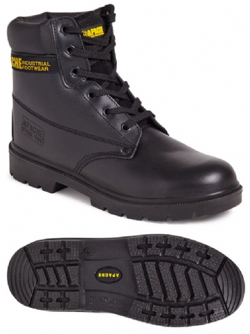 Apache AP300 6 Eye Safety Boot